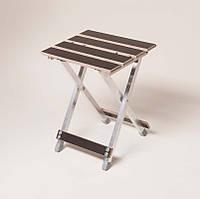 """Стул """"Aluwood"""" 20*15 мм проф. труб. для отдыха (стілець для відпочинку)"""