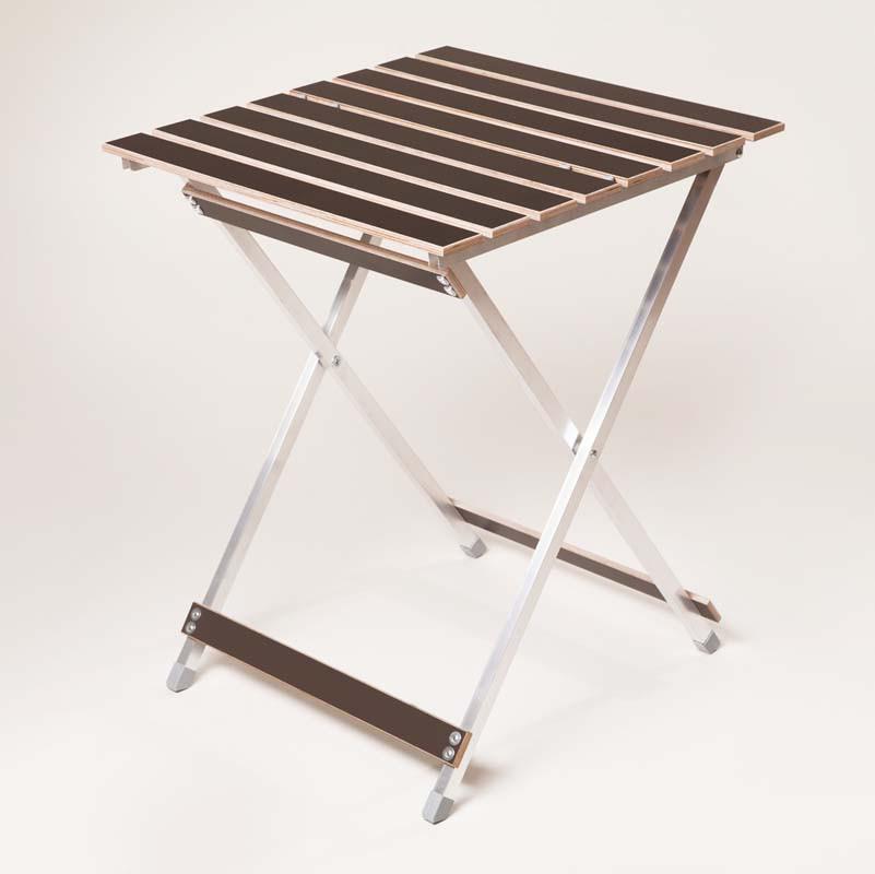 """Стол пикниковый """"Aluwood"""" малый 20*15 мм для отдыха"""