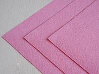 Фетр Розовый Жесткий 1 мм 20 на 30 см