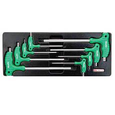 Набор ключей TORX с L-образной ручкой TOPTUL GAAT0804 в ложементе