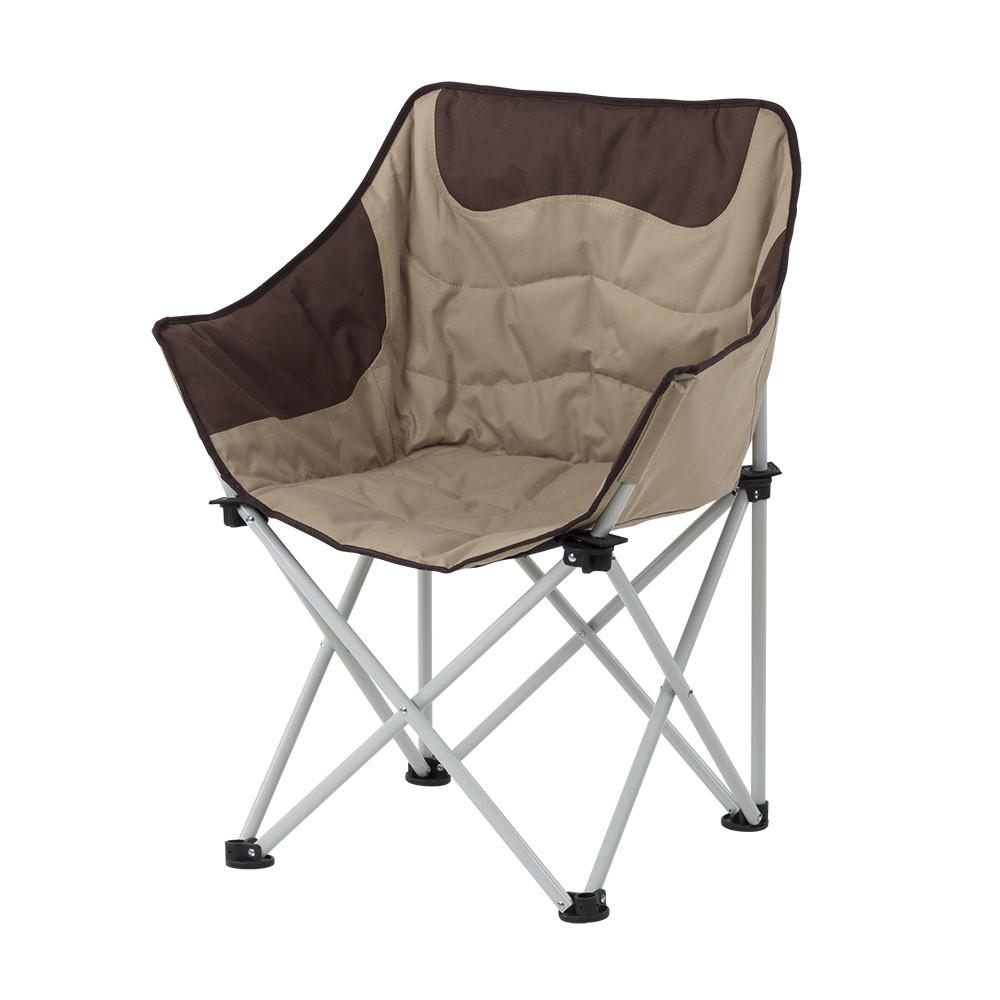 "Кресло ""Ракушка"" d19 мм (коричневый-беж)"