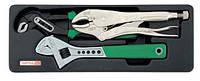 Набор инструмента комбинированный TOPTUL GBAT0303 в ложементе (3 предмета)