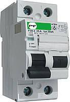 Реле захисного відключення Промфактор РЗВ EVO 1P+N, 30-100мА, 25-100А