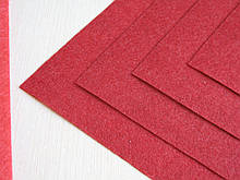 Фетр Турция Темно Красный Жесткий 1 мм 20 на 30 см