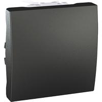 Выключатель кнопочный перекрестный Графит Unica Schneider, MGU3.205.12