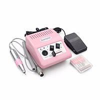 Фрезер для маникюра и педикюра Dr-278 30 000 об/мин, розовый