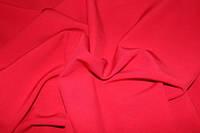 Ткань креп костюмка барби красная