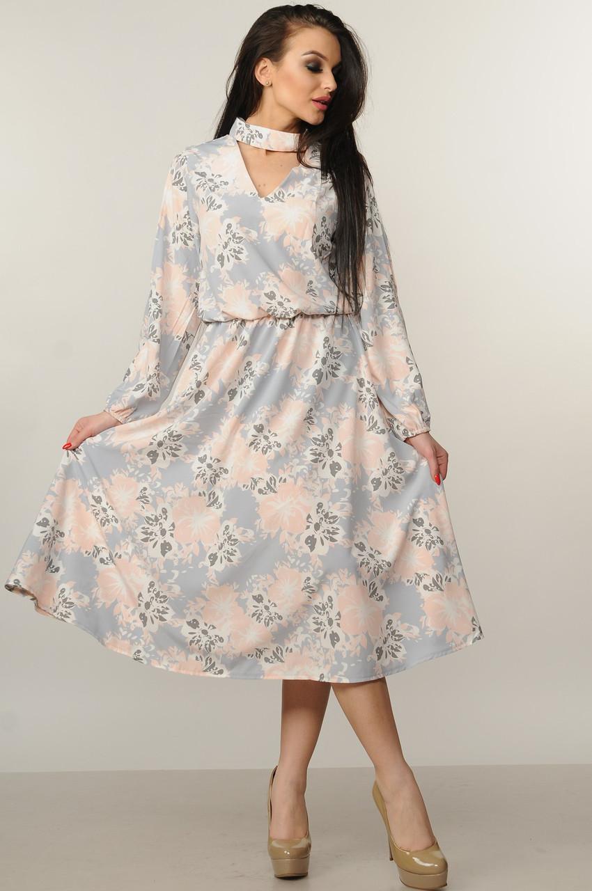 2b46b79bc55 Удлиненное платье с юбкой-колокол - Модный магазин в Киевской области