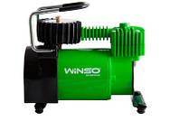 Компрессор автомобильный WINSO 124000 37л/мин 7.0 Атм 170Вт Кабель 3м Шланг 1м Автостоп + Сумка в комплекте