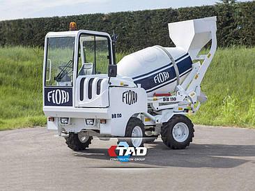 Мобильный бетонный завод FIORI DB 110
