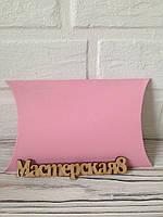 Бонбоньерка розовая подарочная большая 18,5*11,3*4,3 см