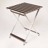 """Стол пикниковый """"Aluwood"""" малый 20*15 мм для отдыха (пікніковий стіл для відпочинку)"""