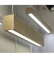 Линейный LED светильник Vela Timber 40Вт 3800Лм VL-LED 40W WOOD