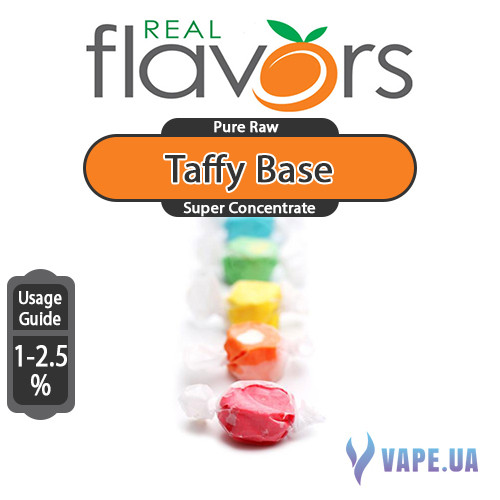 Ароматизатор Real Flavors Super Concentrate Taffy Base (Конфета)