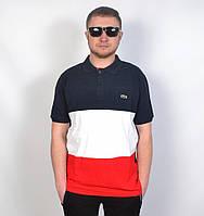Мужская брендовая футболка поло Lacoste 2018 - 34-85