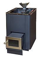 Дровяная печь Испаритель-Гейзер PAL PI-L 20 (с выносом и стеклом)