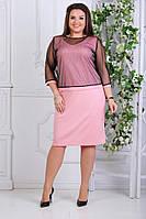 Женское нарядное платье  увеличенных размеров 52-58, фото 1