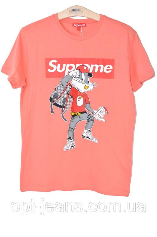 Supreme футболка мужская (M-2XL/4ед.) Лето 2018