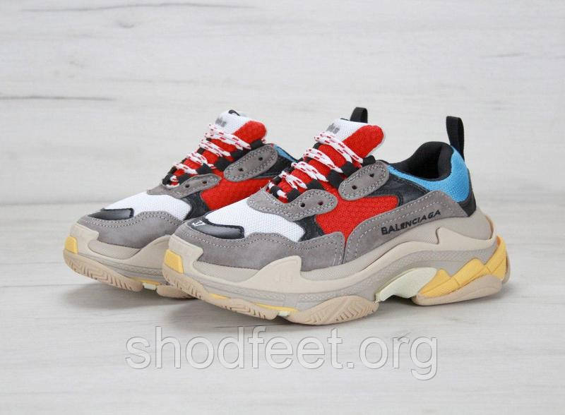 Мужские кроссовки Balenciaga Triple S Sneakers
