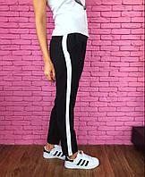Женские стильные брюки с лампасами (3 цвета) (+ большие размеры)