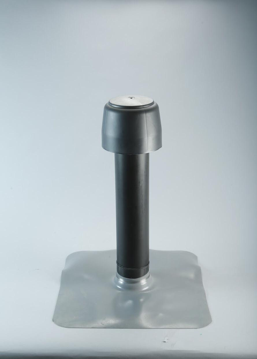 Аэратор кровельный с ПВХ фартуком, 110/600 мм