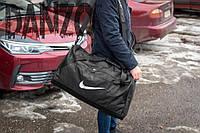 Большая спортивная сумка Nike HARD BLACK, фото 1
