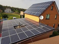 Мережеві сонячні станції