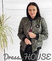 Женская стеганная куртка бомбер (3 цвета)