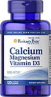 Puritan's Pride Calcium Magnesium Vitamin D3 120 tabs