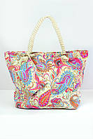 Пляжная сумка Флоренция кремовая