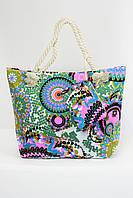 Пляжная сумка Милан зеленая
