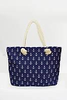 Пляжная сумка Мадрид индиго