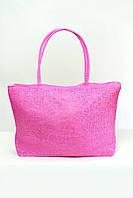 Пляжная сумка Гоа розовая