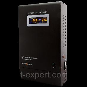 Стабилизатор ИБП Logicpower LPY- W - PSW-5000VA+ (3500Вт) 10A/20A с правильной синусоидой 48В, фото 2
