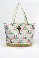Пляжная сумка Бора-Бора розовая