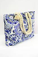 Пляжная сумка Бали ярко-синяя