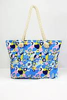 Пляжная сумка Бали синяя
