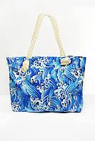 Пляжная сумка Бенидорм синяя