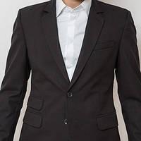 Мужской пиджак черный