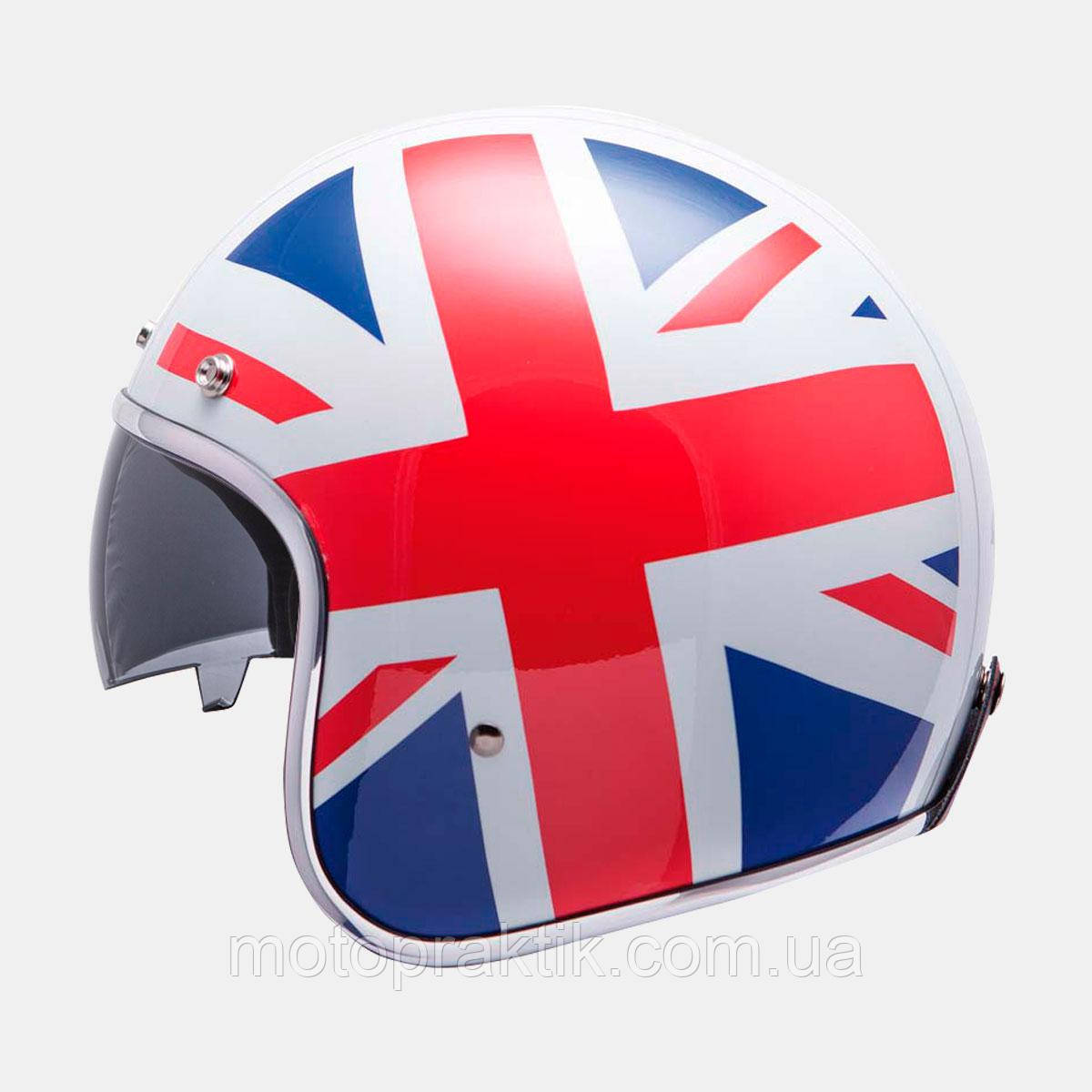 MT LE MANS SV UK Flag, XS, Мотошлем лицевик