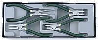 Набор съемников стопорных колец 4пр. Force T5043A F