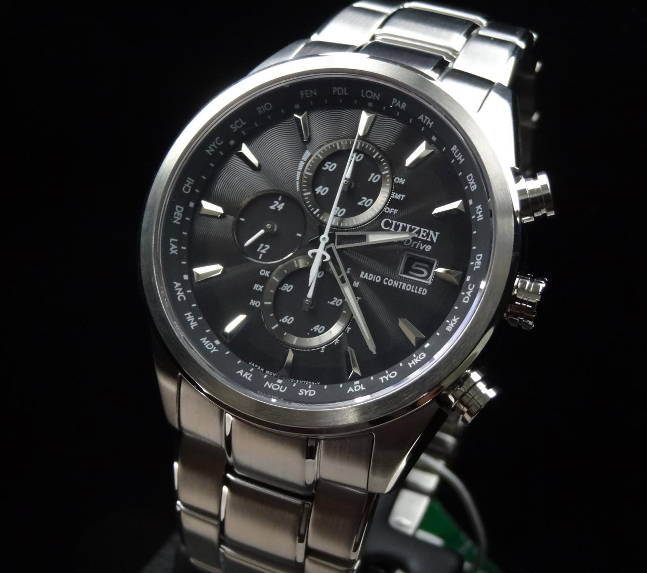 Часы Citizen Eco-Drive AT8010-58E Chronograph Н800