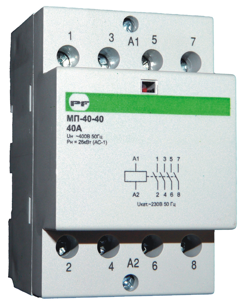 Магнітний пускач Промфактор МП Standart 4Р 20-63А