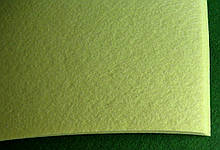 Фетр Турция Светло-желтый Жесткий 1 мм 20 на 30 см