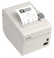Принтер для печати чеков Epson TM-T20 USB+COM термопринтер, термальный, штрихкод