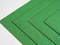 Фетр Зеленый Травянной Жесткий 1 мм 20 на 30 см