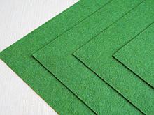 Фетр Турция Зеленый Травянной Жесткий 1 мм 20 на 30 см