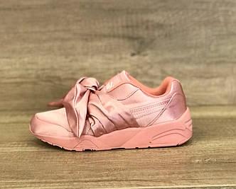 Женские кроссовки Puma by Rianna Fenty Bow Sneaker Pink розовые