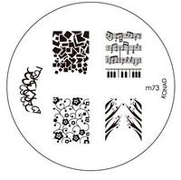 Диск для стемпинга Konad Image Plate M073