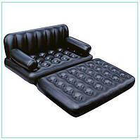 Надувной диван Bestway трансформер 5 в 1 75056 с насосом